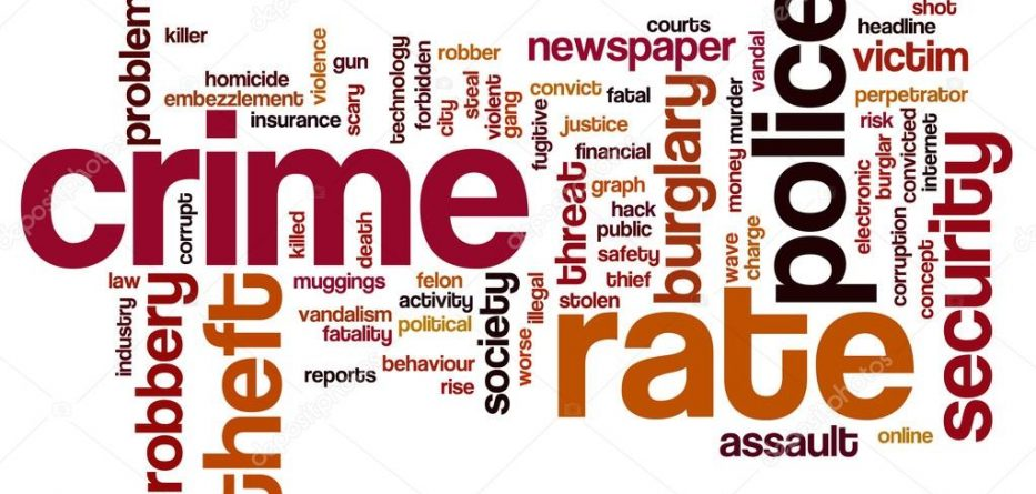 crime word cloud